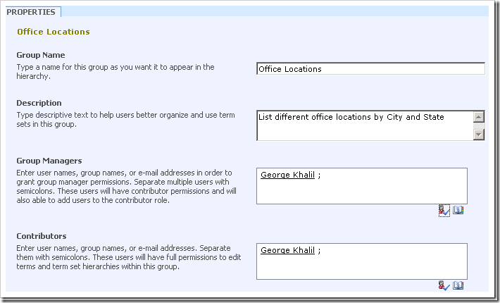 Configuring the Managed Metadata Service Application in SharePoint 2010 step by step - Part 2