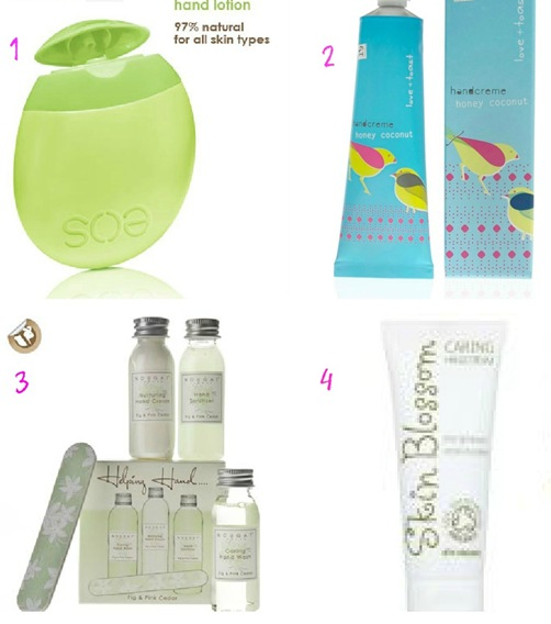 CutECOsmetics Hand Creams