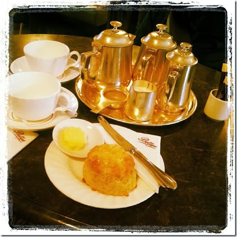 betty's tea and scones