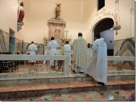 Procissão de entrada Qinta-feira santa