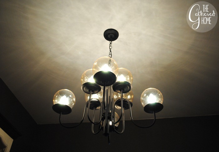 Dining Room Mid Century Chandelier9