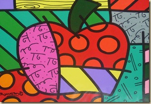 Romero_Britto_Apple_Apple_New_York