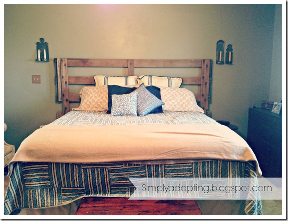 headboard w sconces