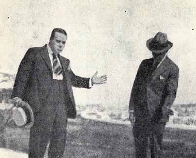 Belmonte con Casimiro Ortas explicando el natural 001
