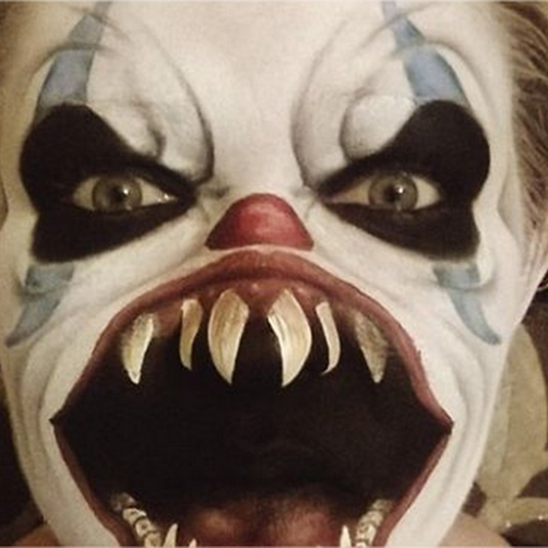 10 espeluznantes maquillajes para Halloween