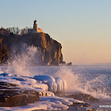 Winter Morning at Split Rock Lighthouse State Park / Minnesota