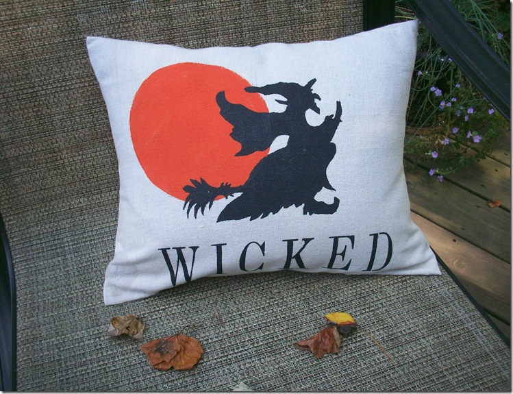 Wicked Halloween Pillow 016