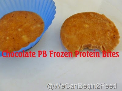 Chocolate PB Frozen Protein Bites