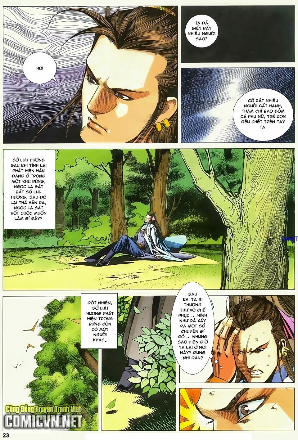 Cổ Long Quần Hiệp Truyện chap 83 - Trang 23