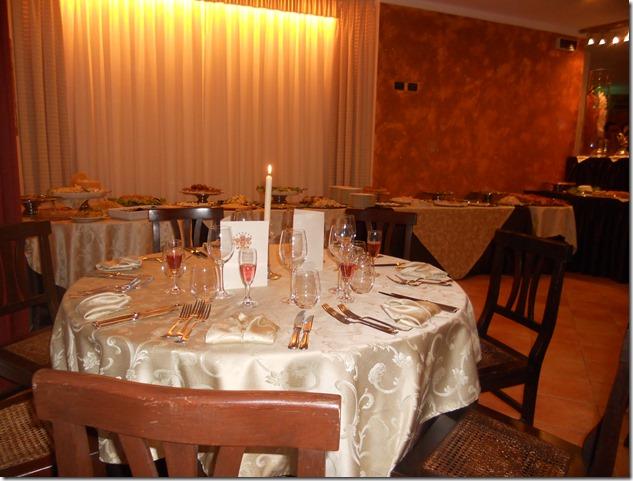 Cena lussuosa nel verde di Chieri