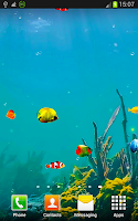 Screenshot of Fishes 3D Live Wallpapers