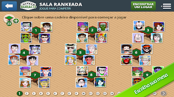 Screenshot of Damas MegaJogos