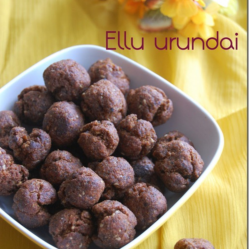 Ellu urundai / Sweet ellu seedai