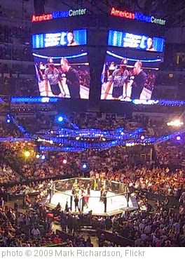 'UFC 103 Franklin vs. Belfort - American Airlines Center - Dallas, TX' photo (c) 2009, Mark Richardson - license: https://creativecommons.org/licenses/by/2.0/