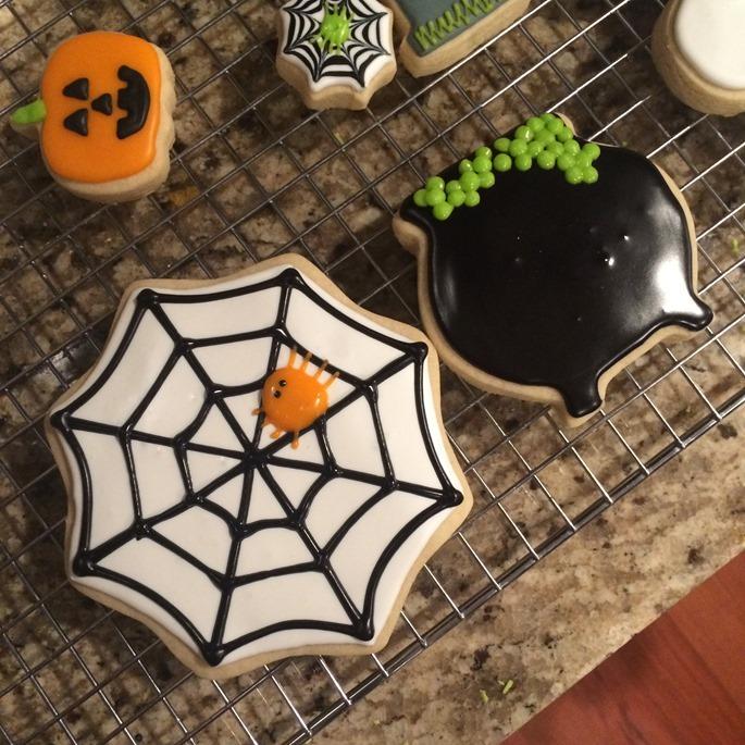 Halloween Cookies 002