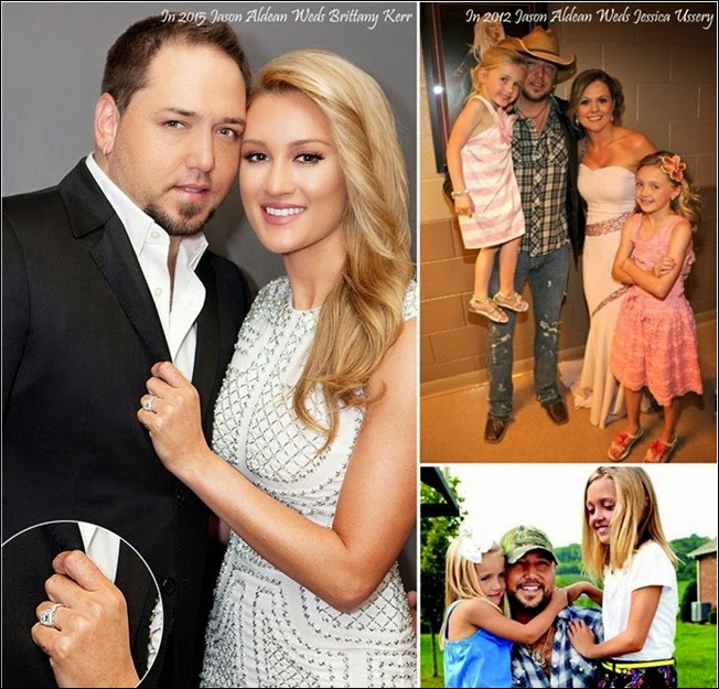 Newlywed Couple Jason Aldean and Brittany Kerr