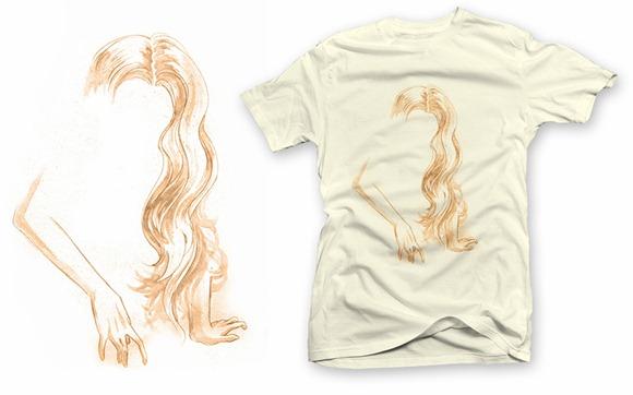 Camiseta - Un peu dair sur terre