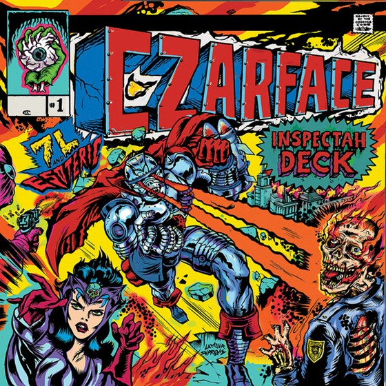 Inspectah Deck, 7L & Esoteric&#8211;'CZARFACE (2013)  