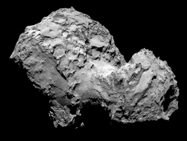 cometa periódico Churyumov-Gerasimenko