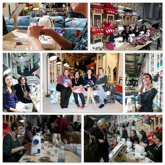 Fuorisalone 2012 - bloggers - cucito creativo - serata Hemma Ikea