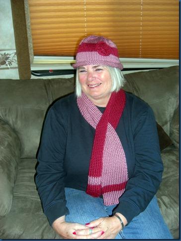 KeyHoleScarf-Hat 2