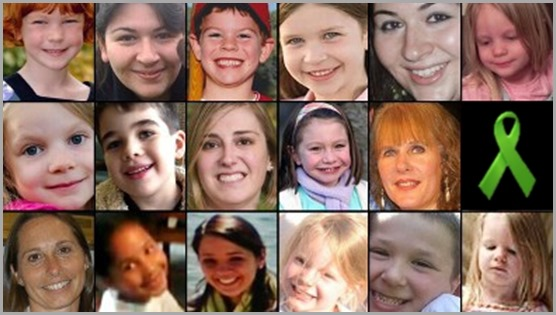 26 children and teachers were murdered at Sandy Hook Elementary School. These are some of them. CLICK to visit the Coalition To Stop Gun Violence site.