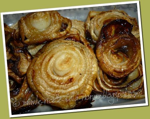 Cipolle bianche al forno in agrodolce (6)