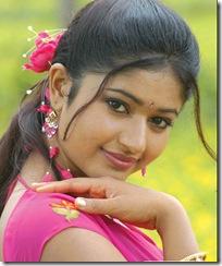 poonam-bajwa in rose dress