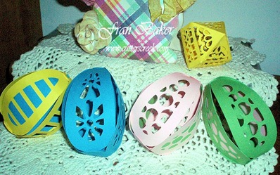 View of Easter Eggs - Die Cuts_Silhouette