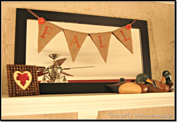 Upclose Fall Bunting