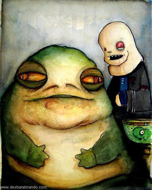 jabba desenhos arte uminga viloes desbaratinando