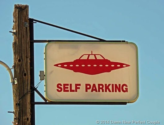 Self Parking Sign