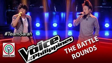 Elmerjun Hilario vs Kokoi Baldo - The Voice PH 2 Battle Rounds