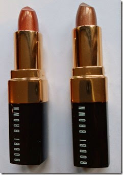 Bobbi Brown Nude Shimmer Lipsticks