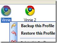 Fare il backup di Google Chrome e creare nuovi profili indipendenti