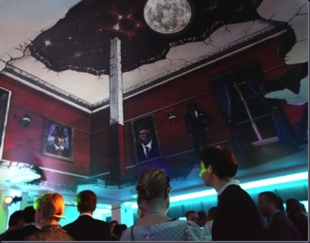 Google party at the World Economic Forum in Davos by Joe Hill & Max Lowry