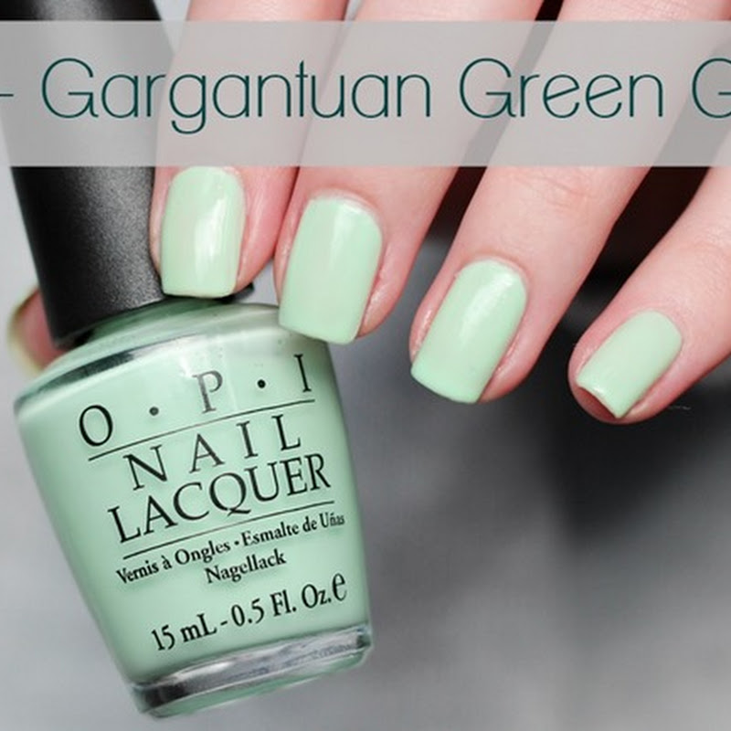 [Swatch] O.P.I – Gargantuan Green Grape