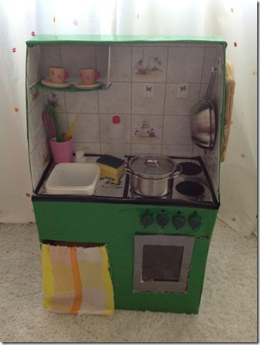 Mammarum: Giochi fai da te: come costruire una cucina per bambini ...