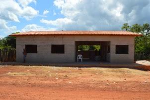 Escola Hélio Soares em fase de acabamento,  construída na atual gestão