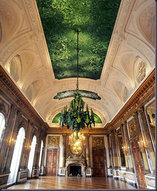 jan fabre, jewel-beetle-ceiling