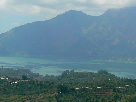 Visiting the Batur lake