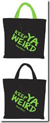Keep YA Weird tote