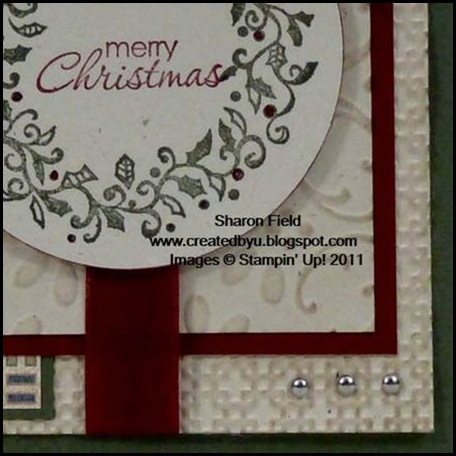 vintage, Christmas, Well Worn, Welcome Christmas, Petite Pairs, Embossing, Big Shot, Sharon Field, Created By You