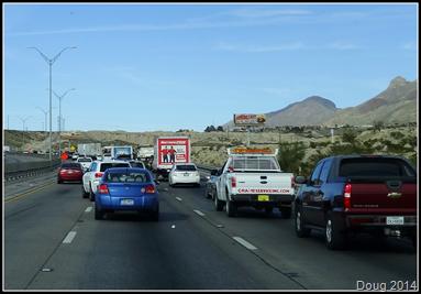 El Paso traffic jam