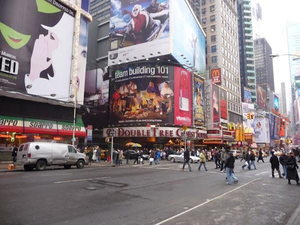 Der Times Square ... unbedingt ansehen