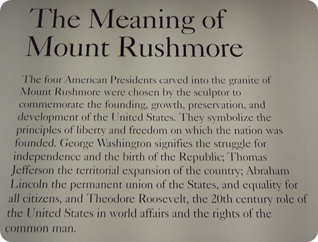meaning for mt rushmore