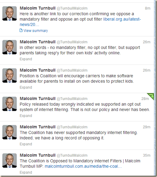Malcolm Turnbull (TurnbullMalcolm) on Twitter