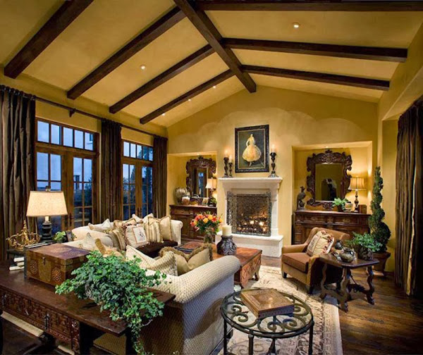 Luxury Rustic House Interior Decor Rustic Home Decor