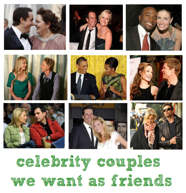 celebrity couples I want to be friends with