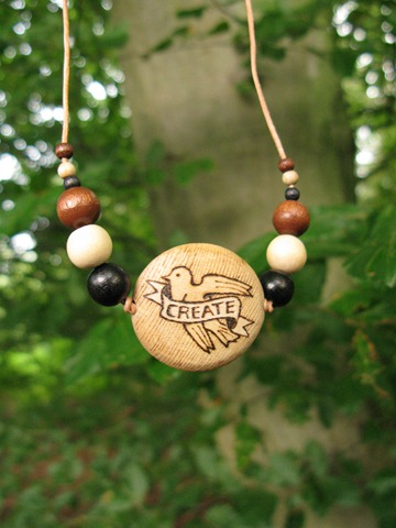 woodburn create necklace